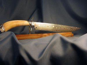 Warthog Tusk Damascus